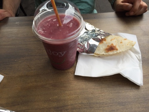 wrap and smoothy
